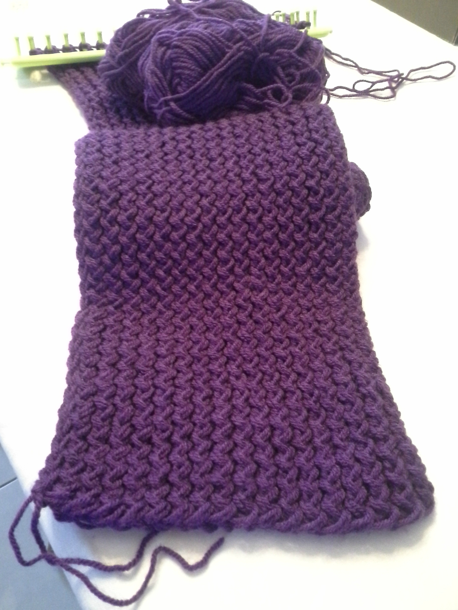 Tricotin foulard