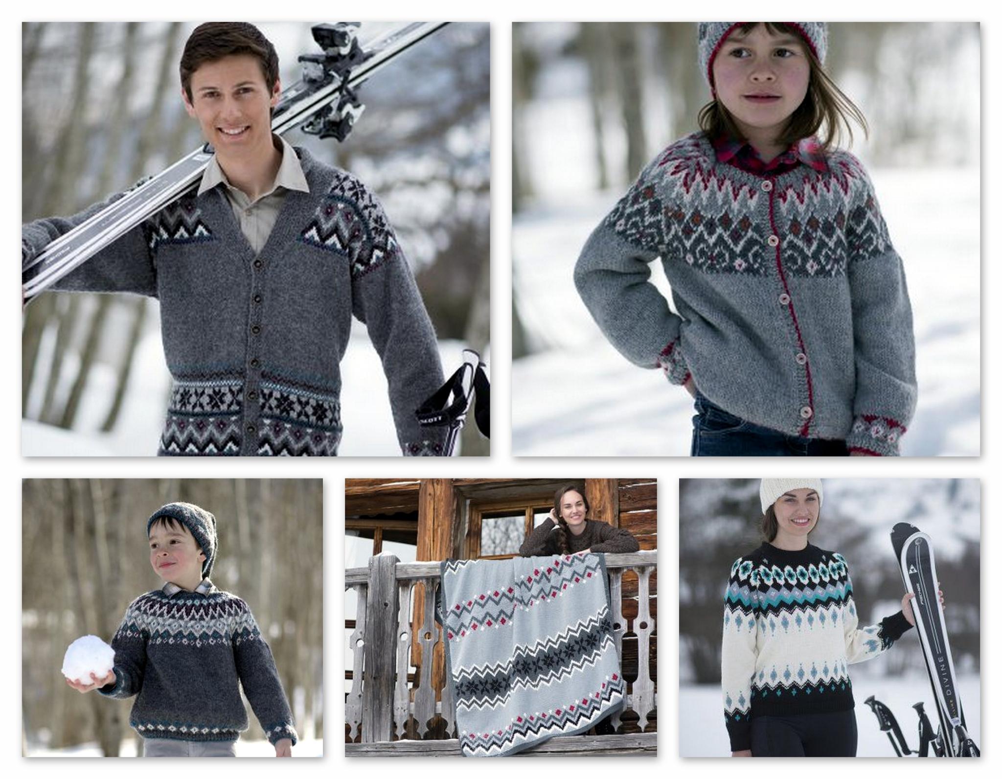 Modele tricot jacquard facile