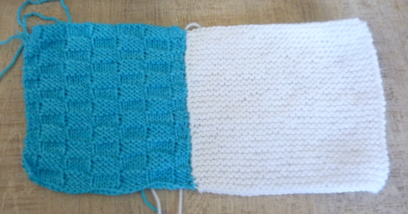 Mes creations tricot facile n°1