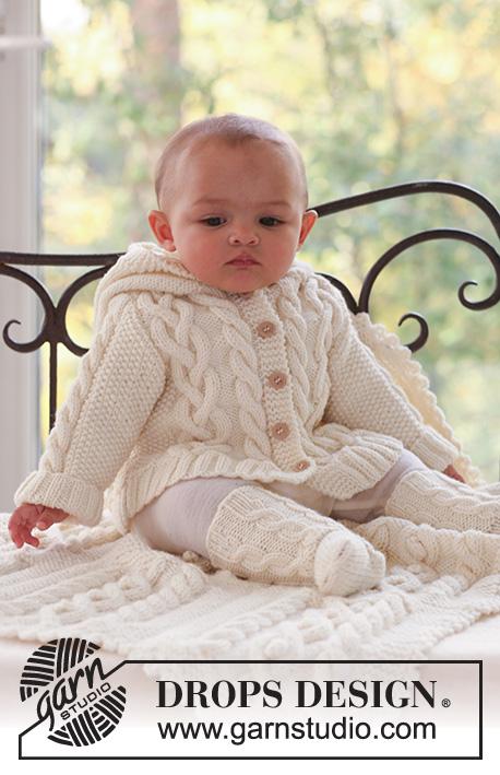 Tricot bébé drops