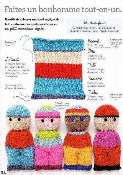 Tricoter doudous facile
