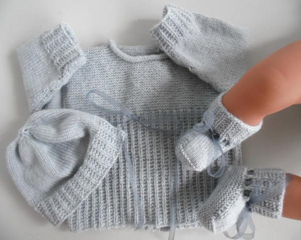 Tricot facile a la main