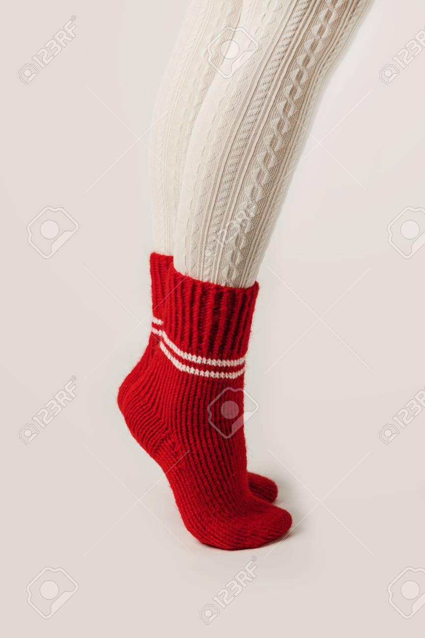 Tricoter des jambes
