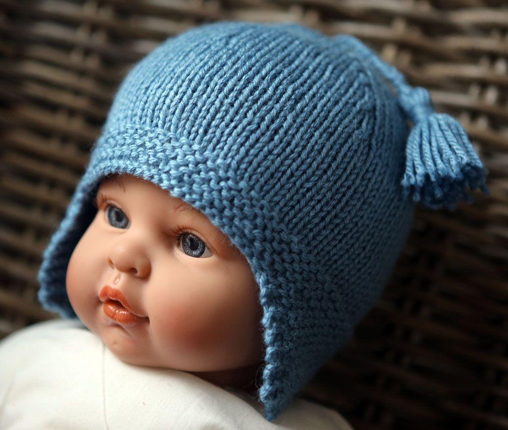 Tricot bonnet bébé 6 mois facile