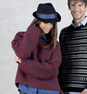 Tricoter pull xxl