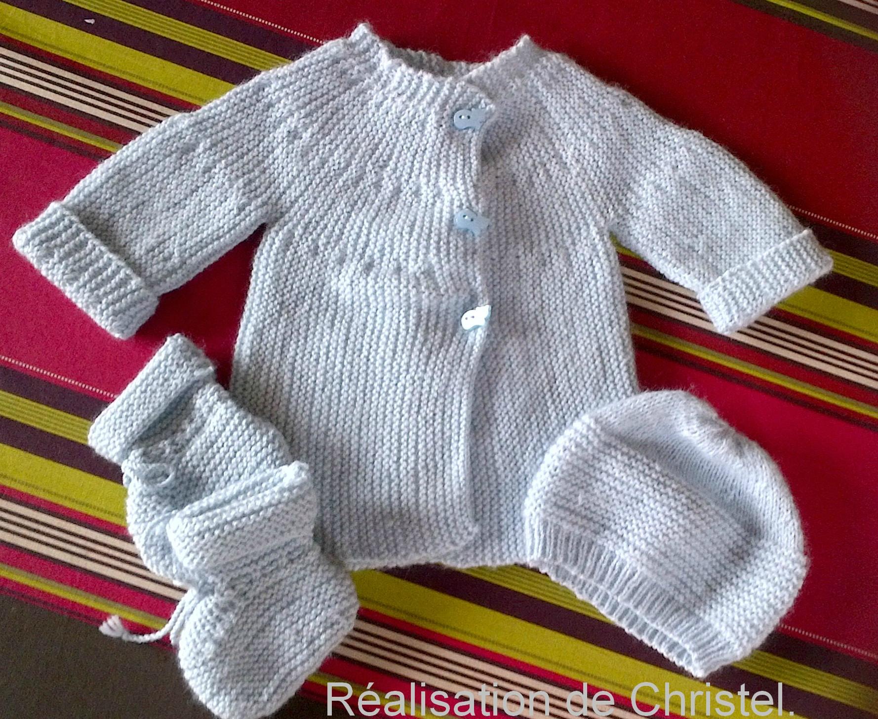 Livre tricot layette facile