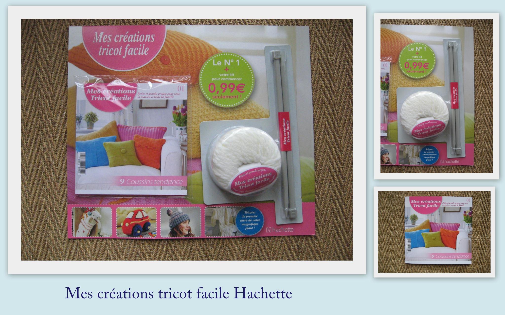 Tricot facile + hachette collection