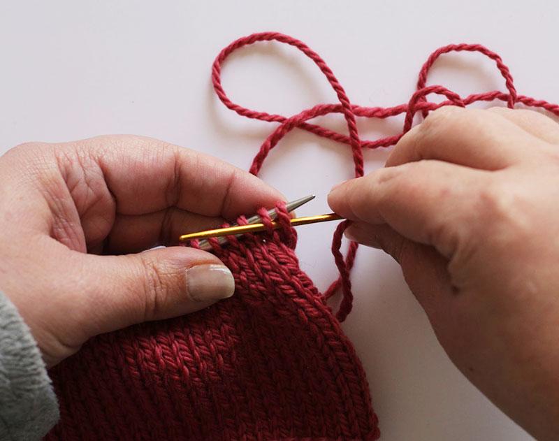 Tricoter facile rabattre les mailles