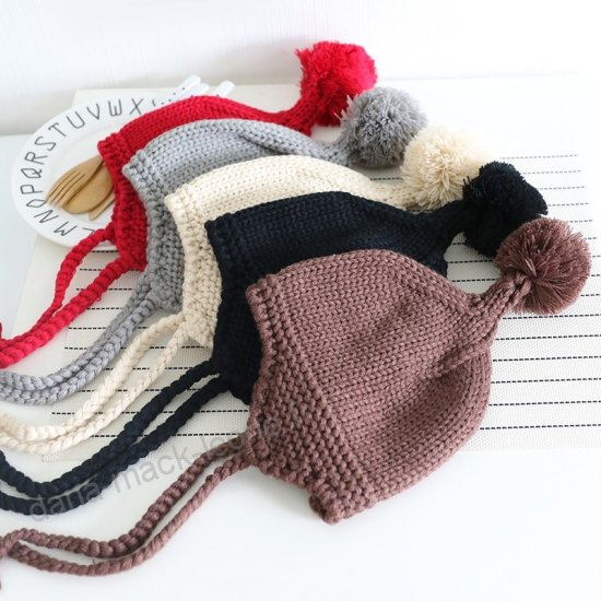 Tricot headband bébé