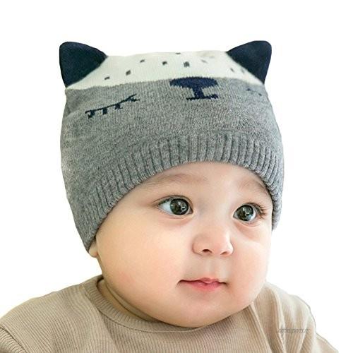 Tricot bebe chapeau