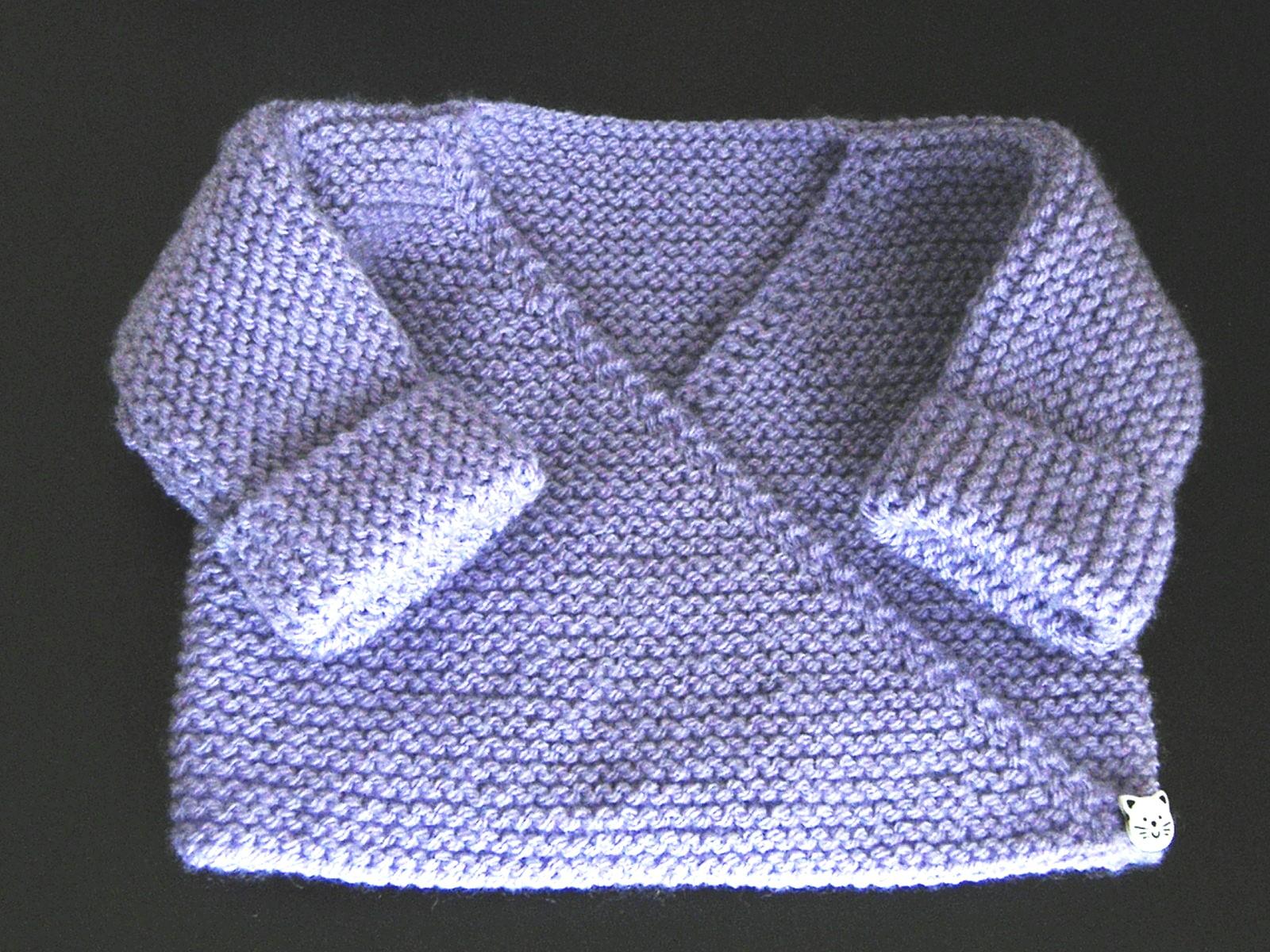 Tricoter bebe facile