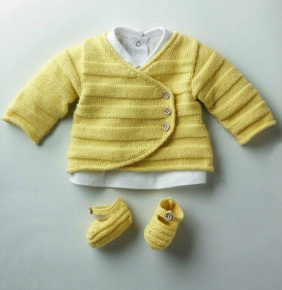 Tricot facile pour bébé phildar