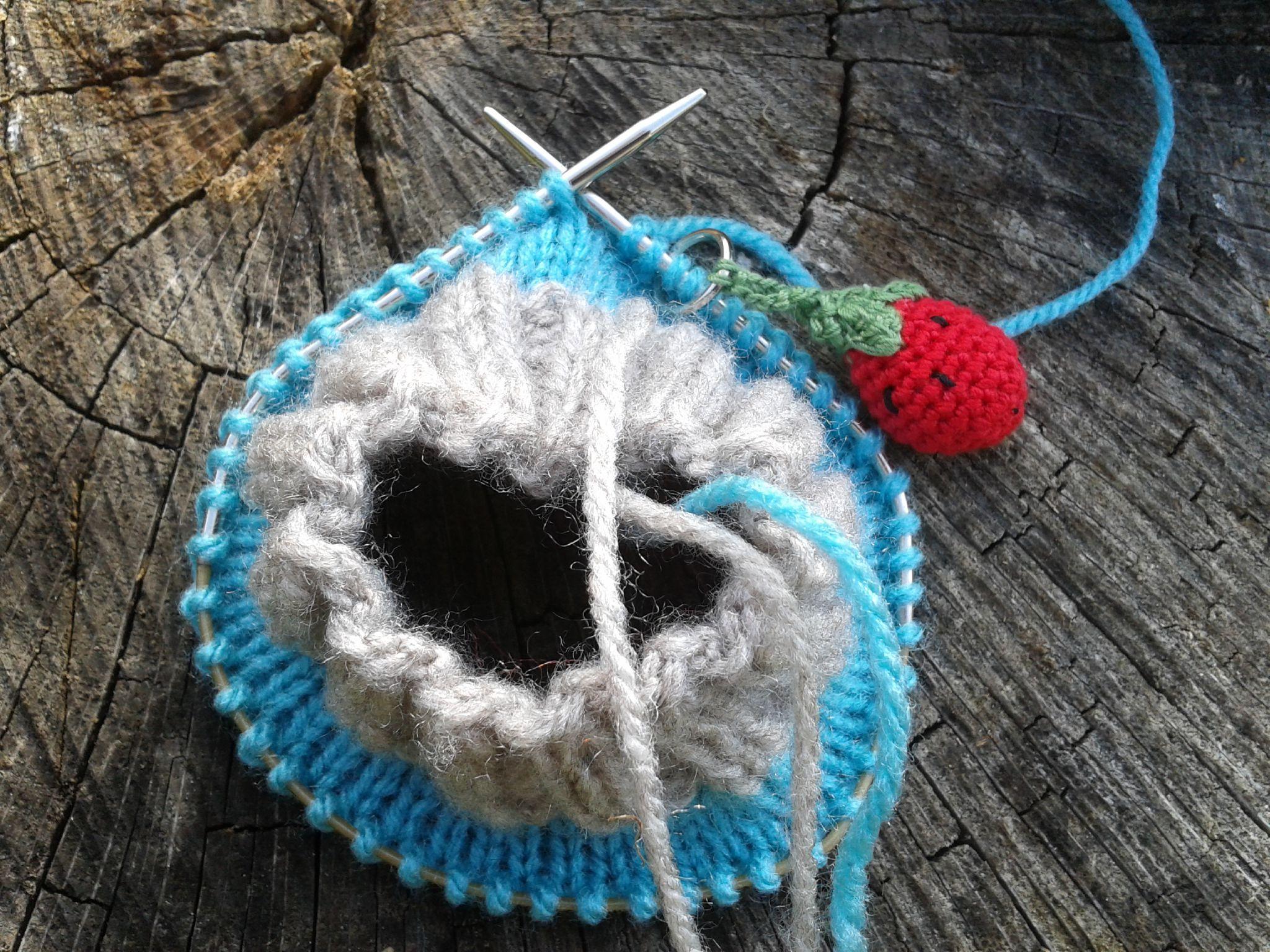 Tricoter chaussettes facile aiguille circulaire