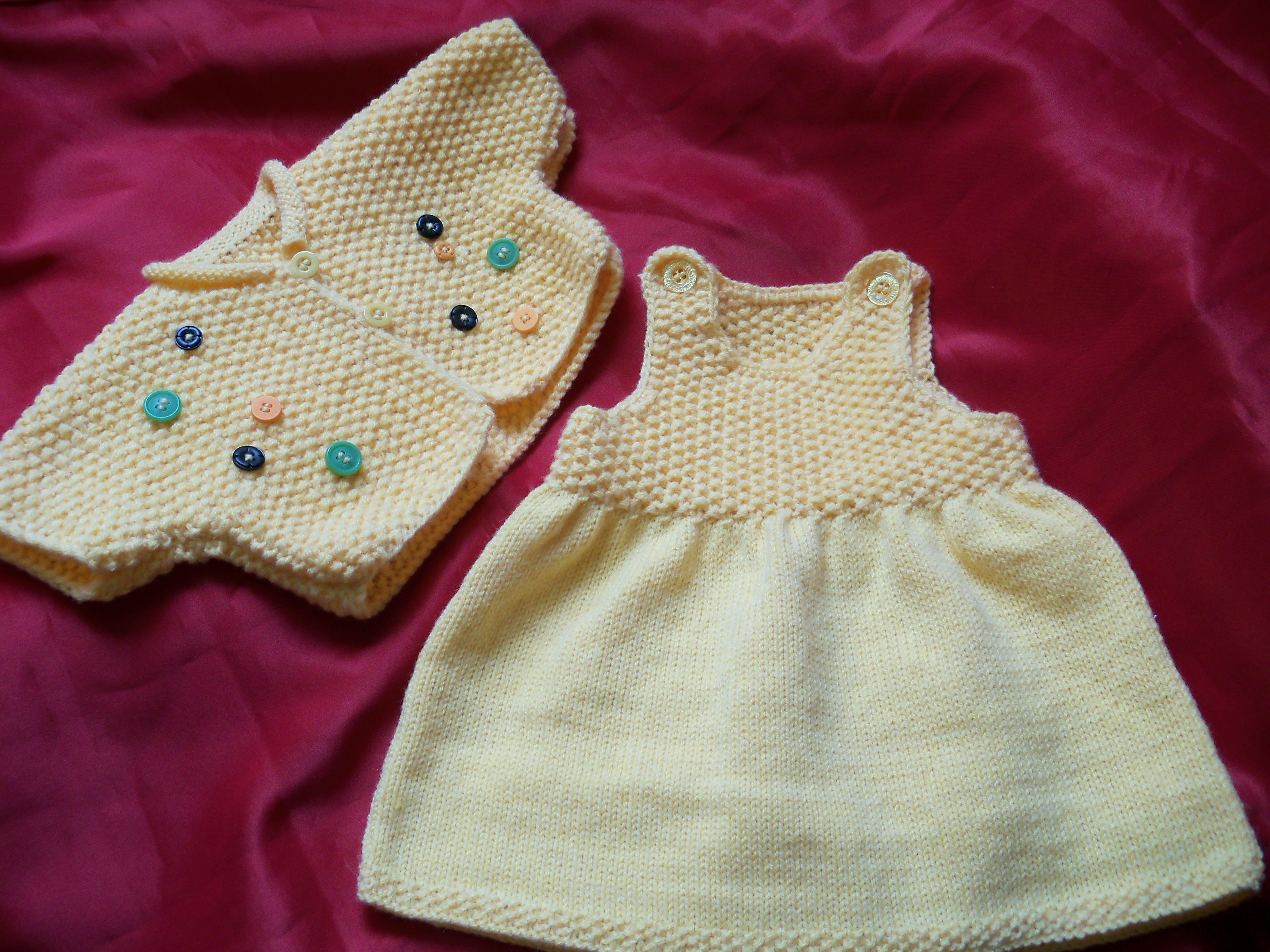 Modele tricot robe facile