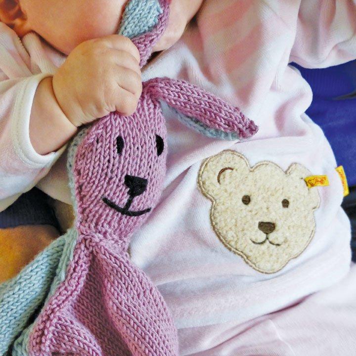Tricot doudou bébé débutant