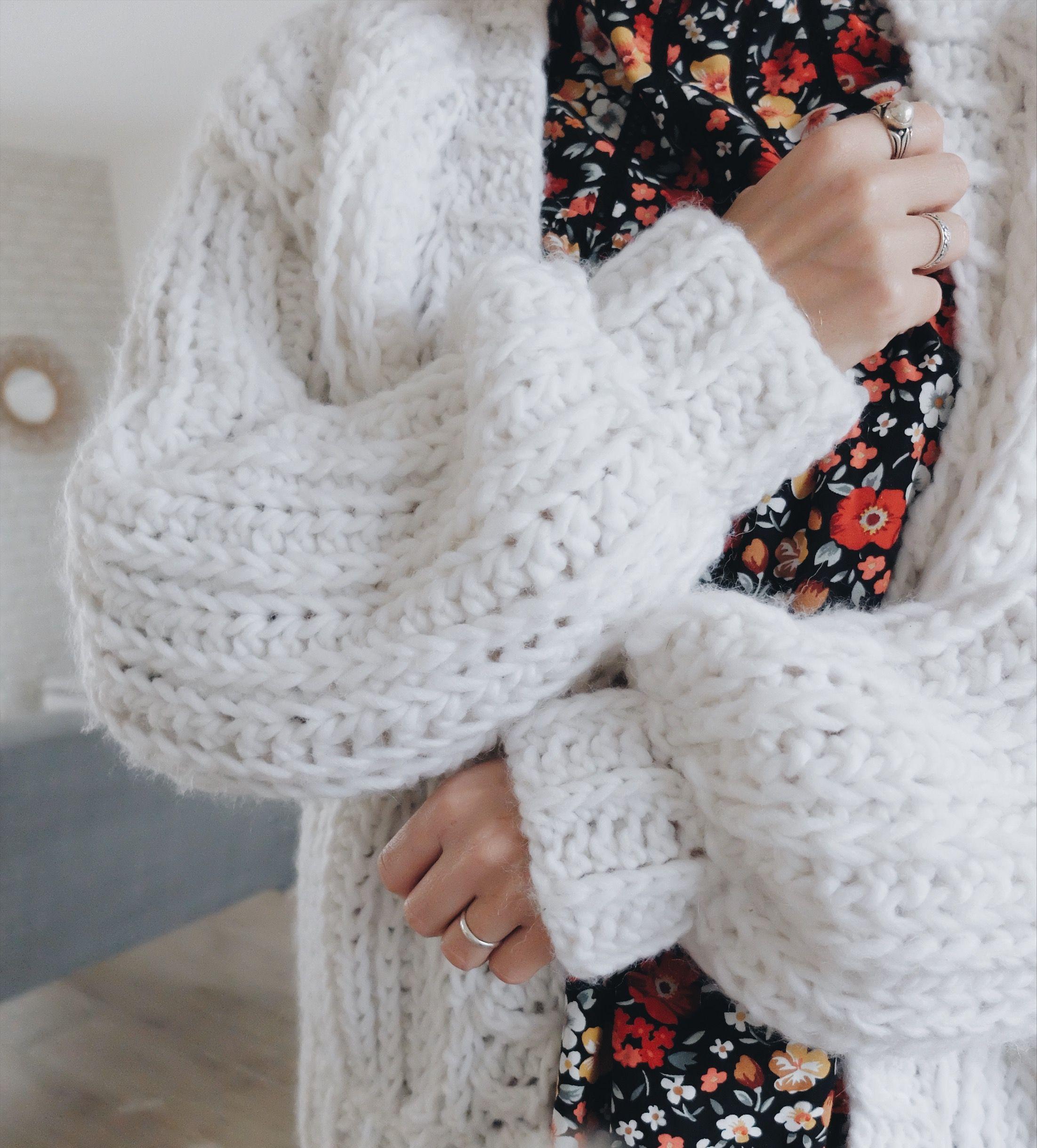 Tricot facile grosse laine