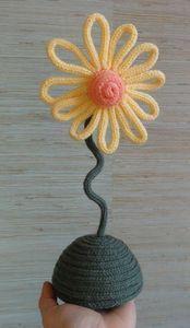 Tricotin fleur