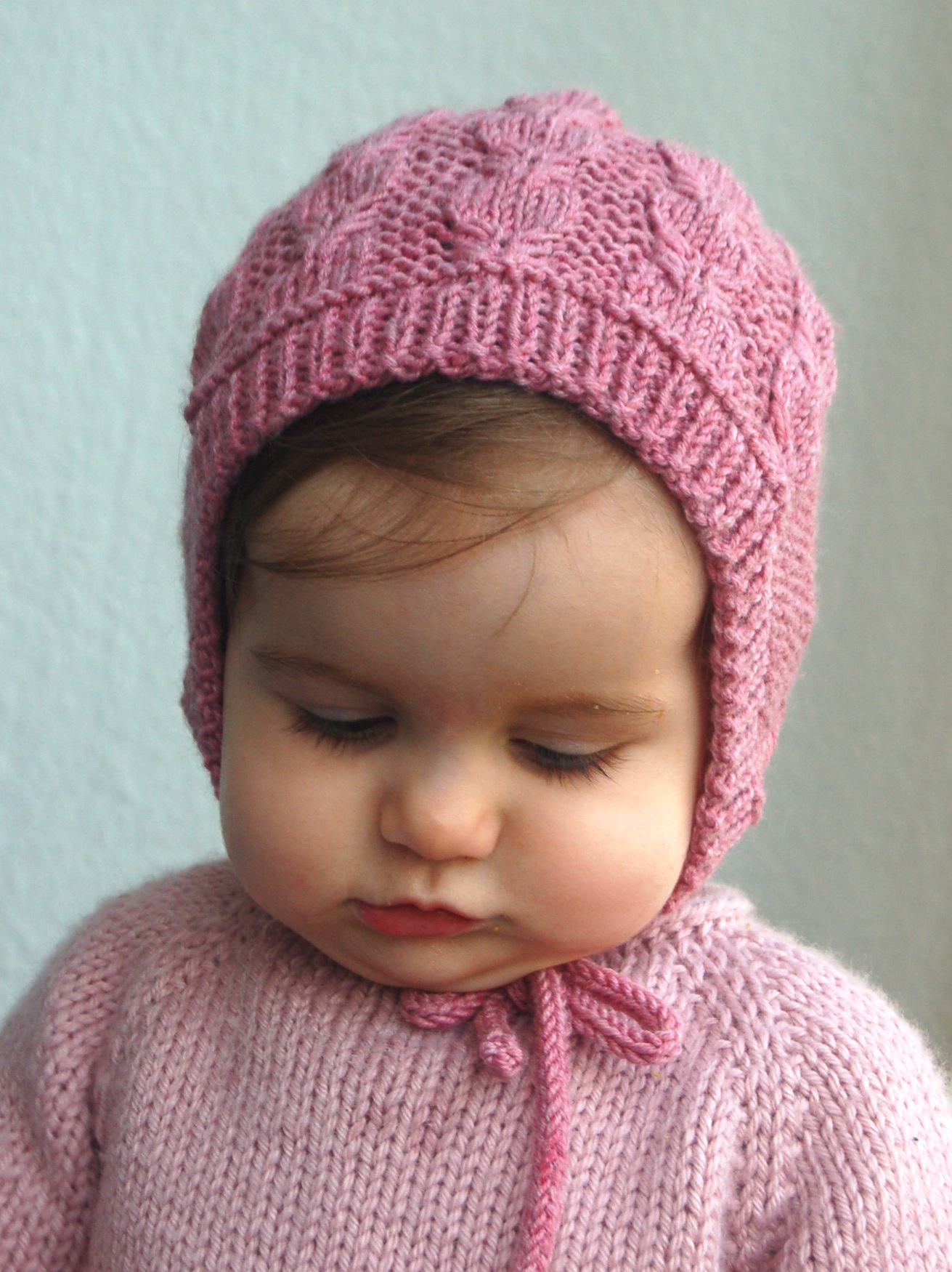 Tricot beguin bebe
