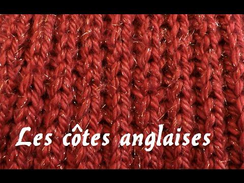 Tricoter des cotes