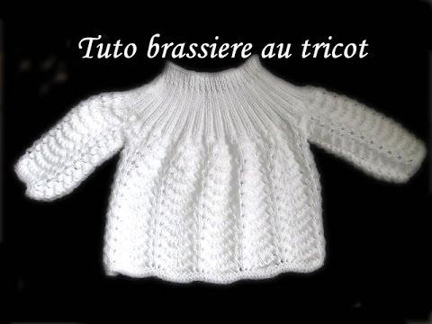 Tricot brassière naissance facile