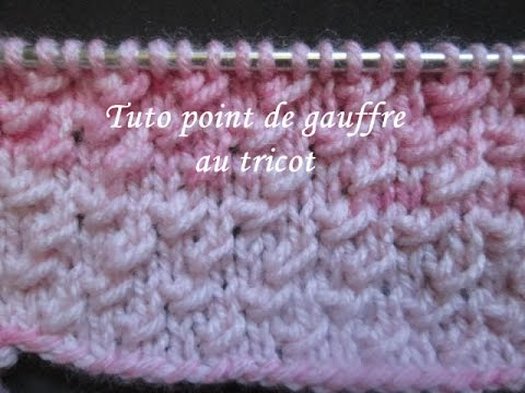 Tricot facile sur youtube