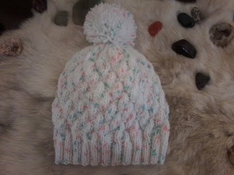 Tricot bonnet facile youtube