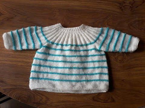 Tricot bébé facile brassiere