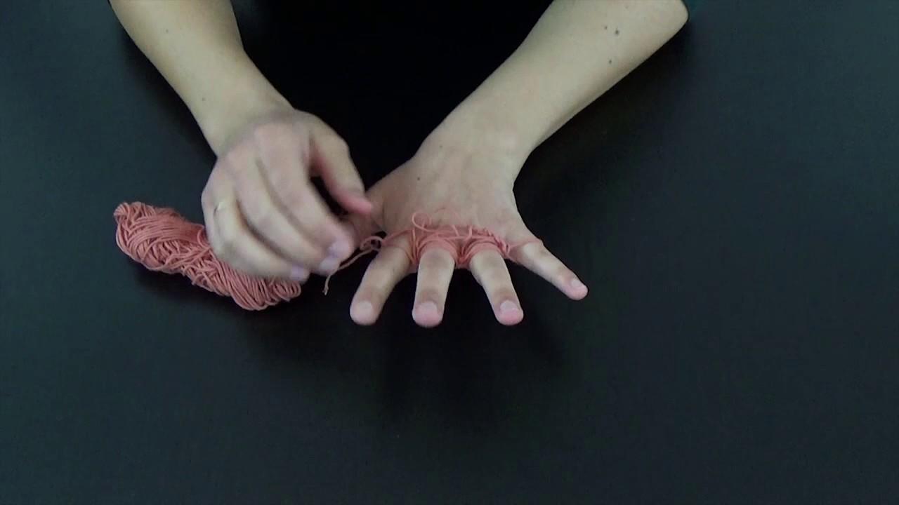 Tricot facile avec les doigts