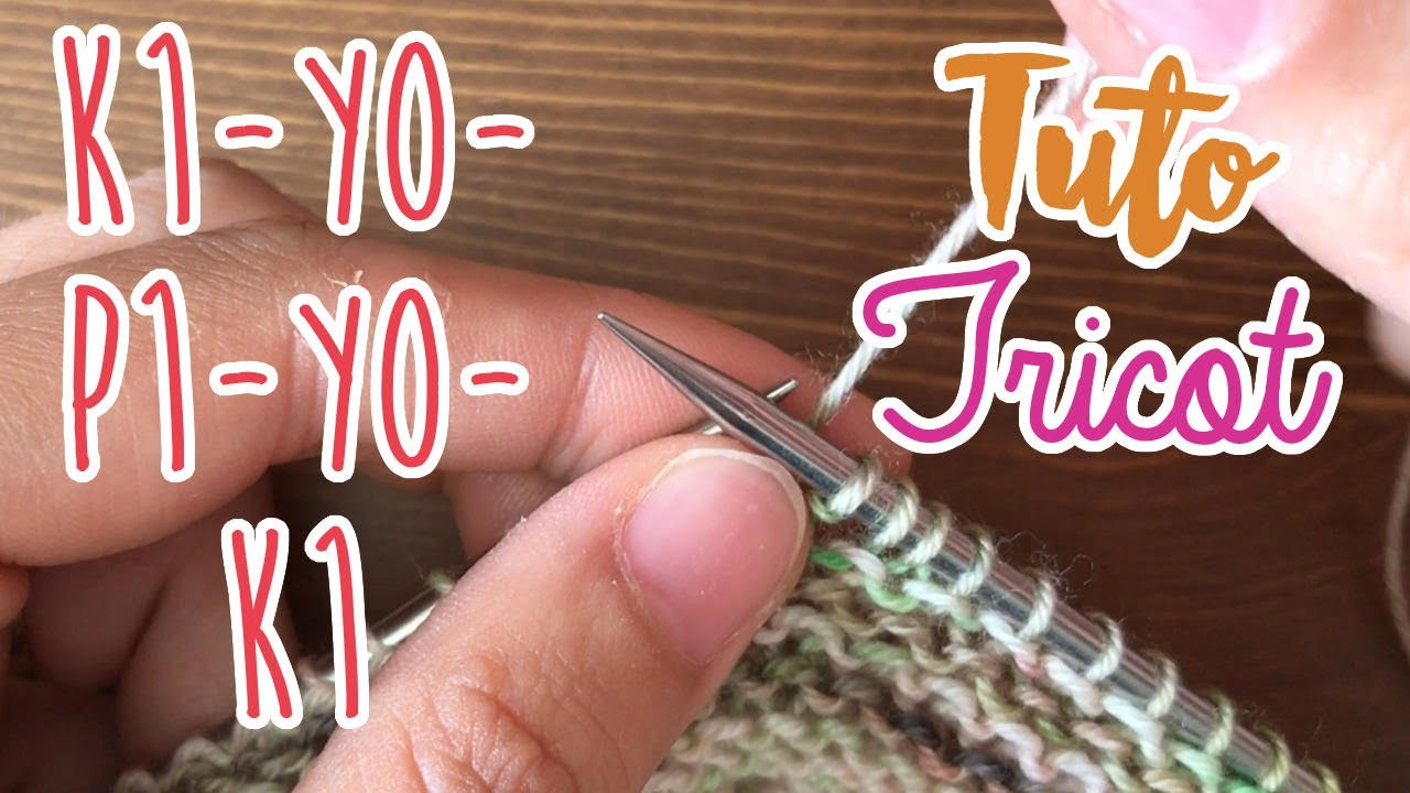 Tricot yarn over