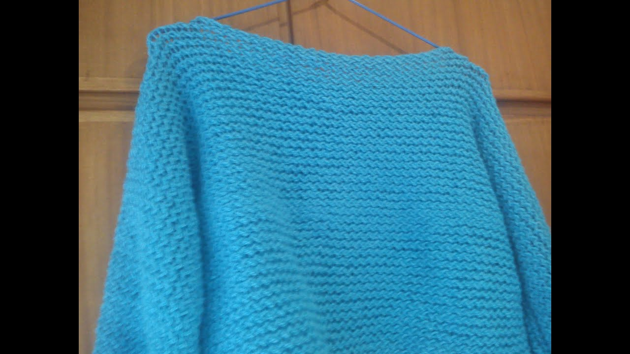 Tricotin knitting loom pullover