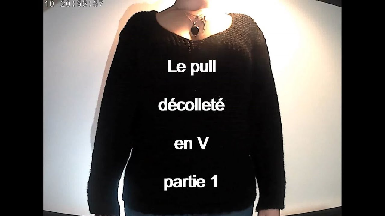 Tricotin rectangulaire pull