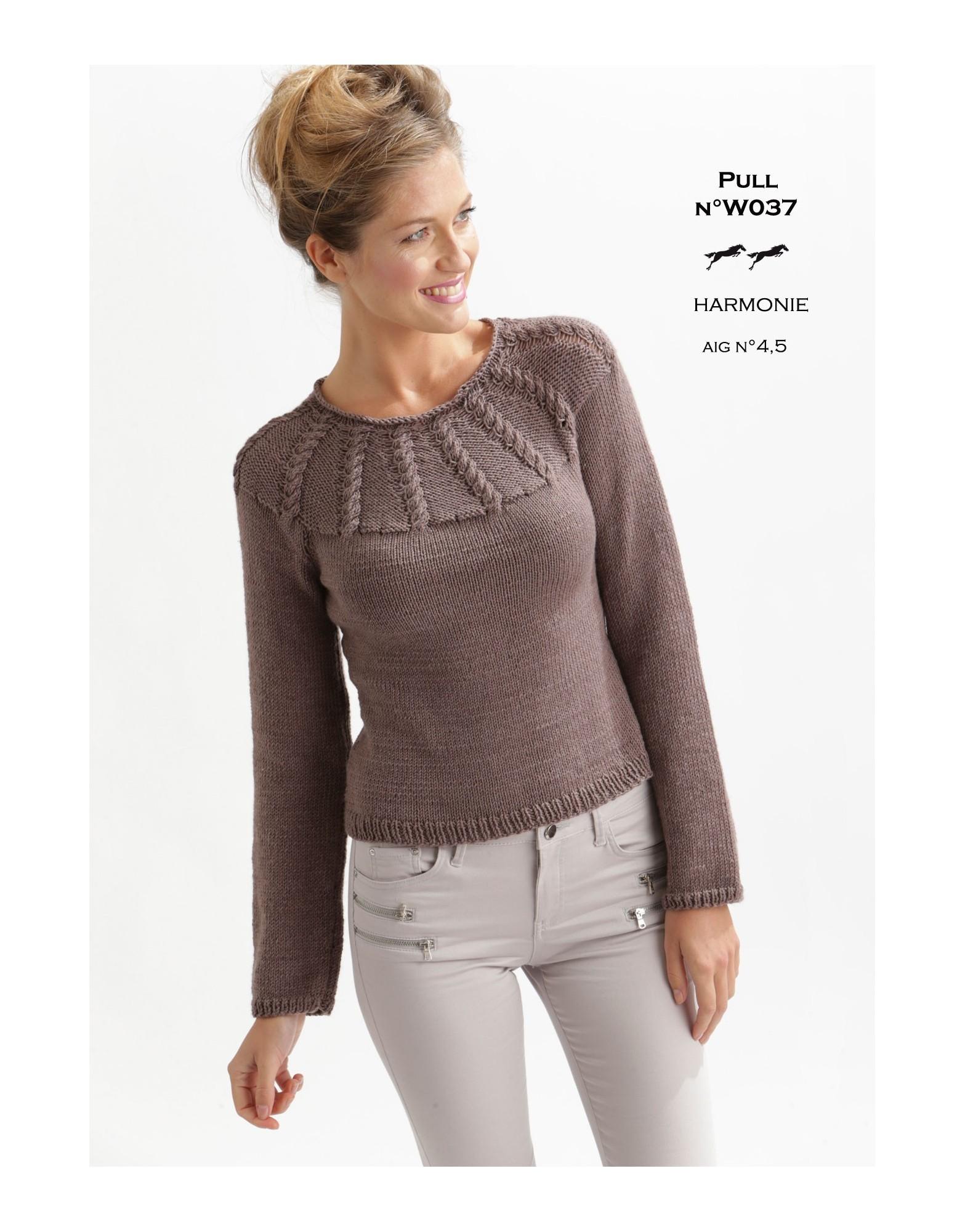 Tricoter robe facile femme