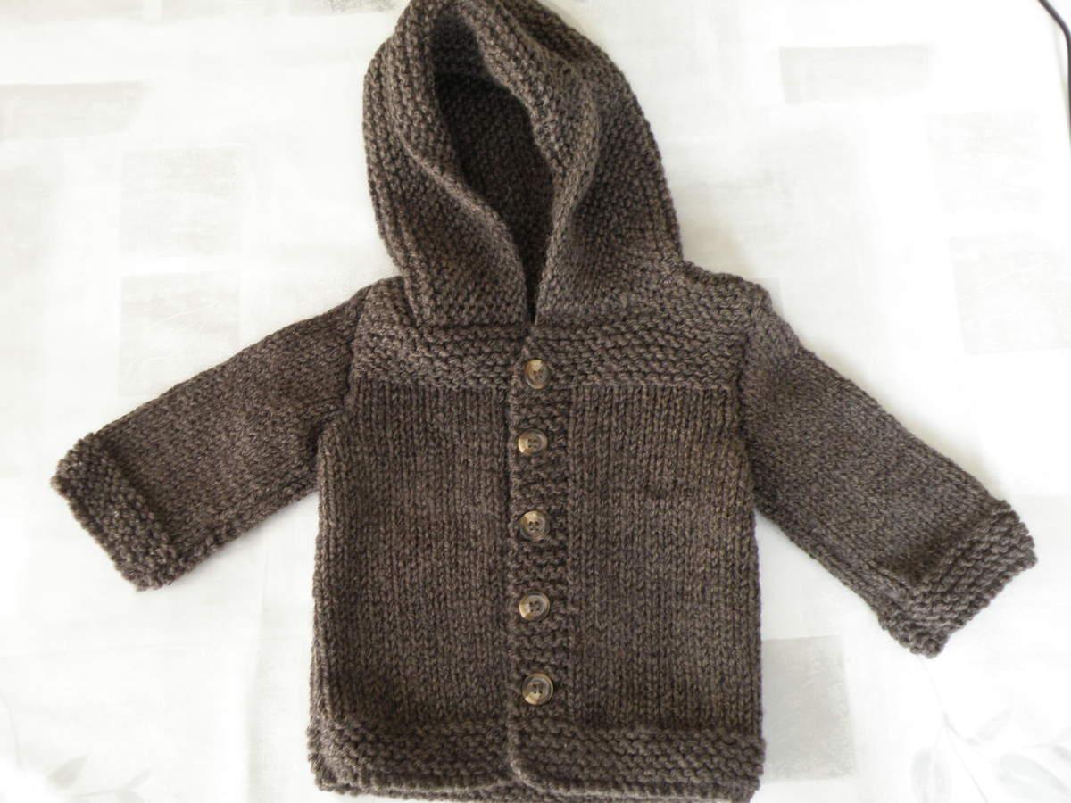 Tricoter manteau bébé