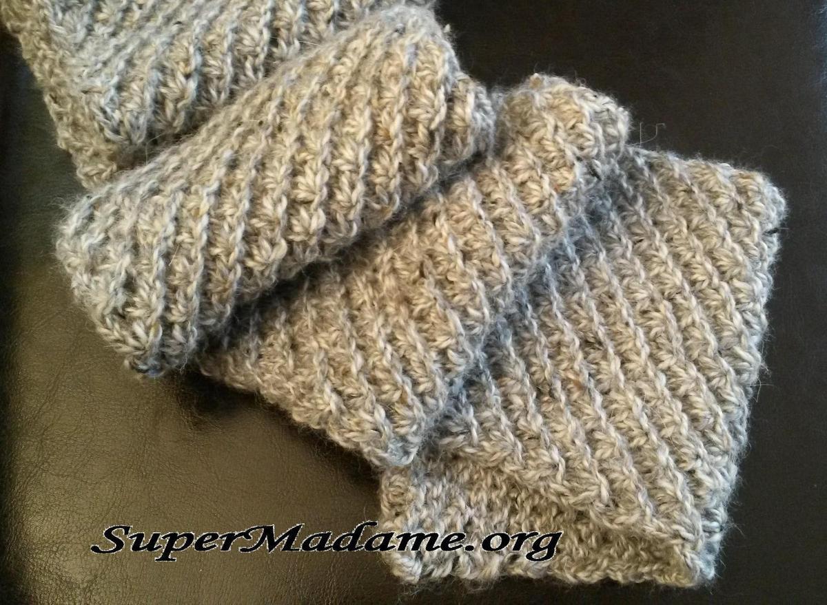 Tricot facile foulard
