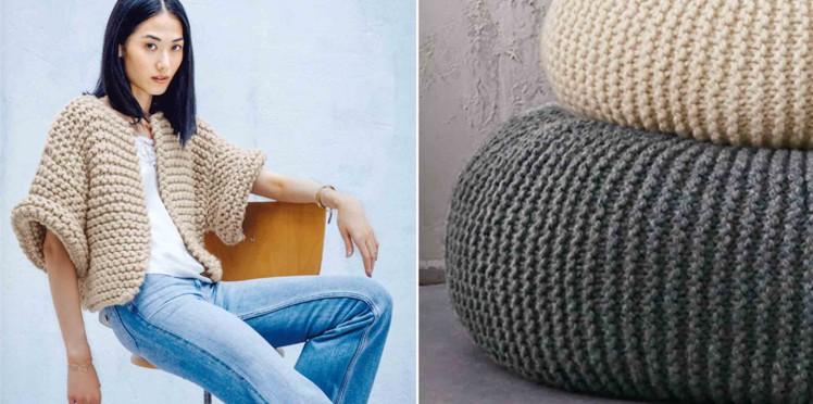 Modele tricot facile femme