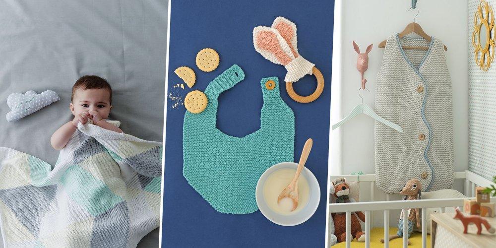 Tricot facile pour bébé gratuit